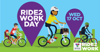 Social media tile landscape - Ride2Work Day 2018