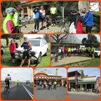 tour de orange collage