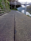 Narrow Groove in Path 01